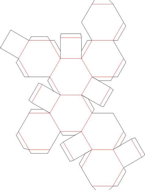 Truncated Cuboctahedron Template by Honar Va Memari گسترده احجام