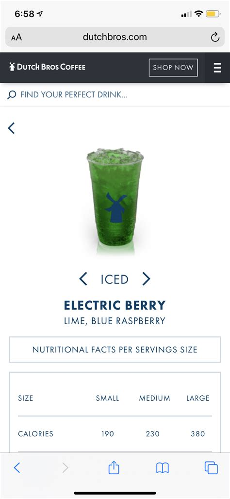 Dutch brothers coffee menu can offer you many choices to save money thanks to 14 active results. Pin by Erin Batura on Dutch Bros in 2020 | Perfect drinks, Nutrition facts, Dutch bros