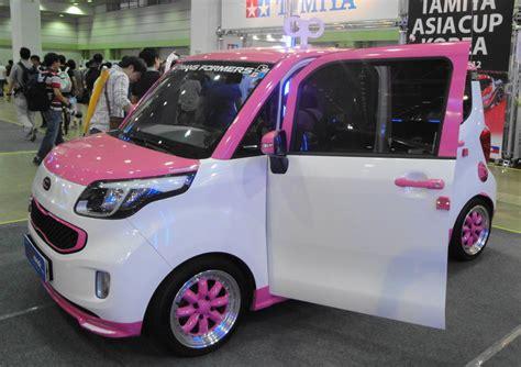 girly car brands seoul auto salon 2012 cars models fun modern seoul