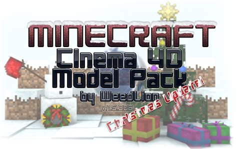 Cinema 4d Minecraft Packs And Rigs