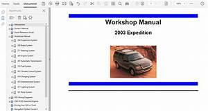 2003 Ford Expedition Repair Manual