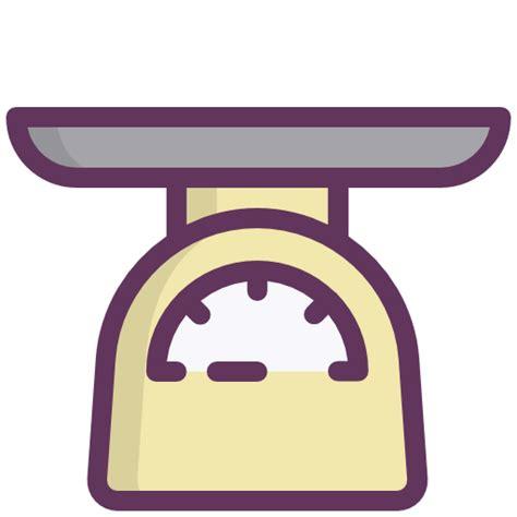 icone cuisine icône balance peser le poids ustensiles de cuisine