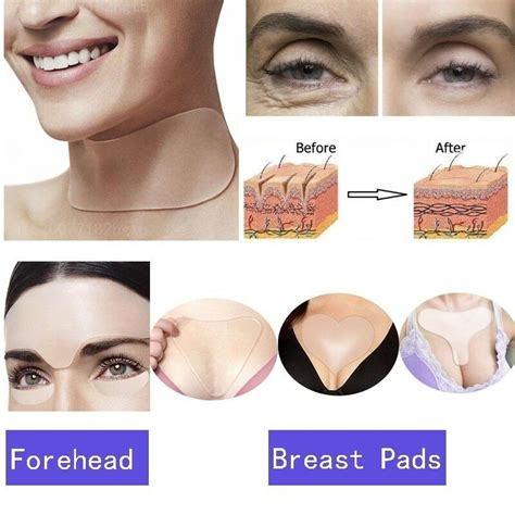 Reusable Silicone Care Anti Wrinkle Neck Chest Pad Anti