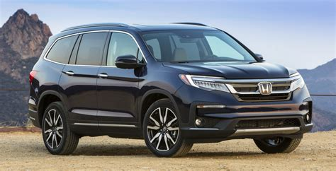2019 Honda Pilot 8seat Suv Launched  Priced From $31,450
