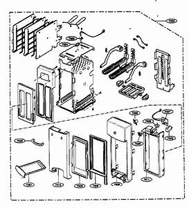Toaster Parts Diagram  U0026 Parts List For Model 72163299300