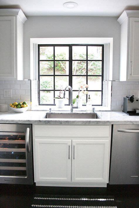 Kitchen Window Backsplash by Small Shop Erika Brechtel White Kitchen Marble