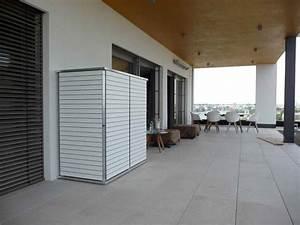 gerateschuppen modern holz metall oder kunststoff With französischer balkon mit garten q alternative