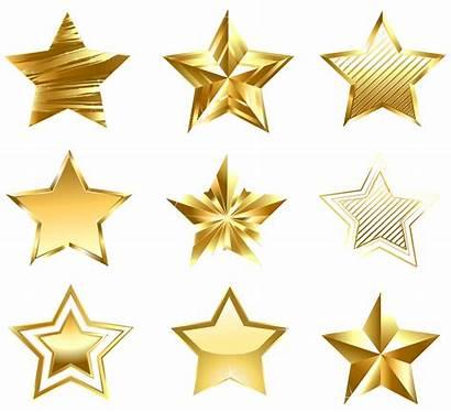 Stars Star Transparent Clip Clipart Golden Background