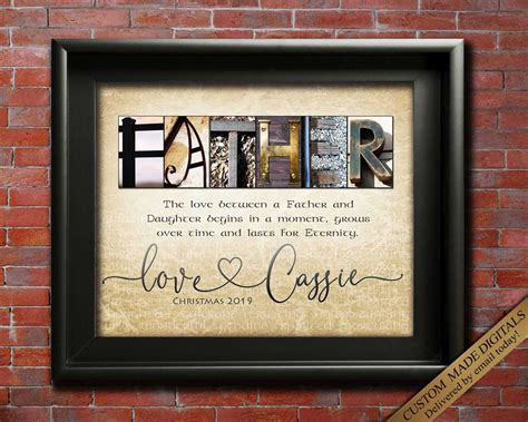 Maybe you would like to learn more about one of these? Father Gift from Daughter, Personalized gift for Dad ...