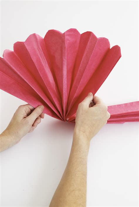 How To Make Tissue Paper Pom Poms Better Homes And Gardens