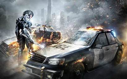Gear Metal Rising Revengeance Wallpapers 1280 1600