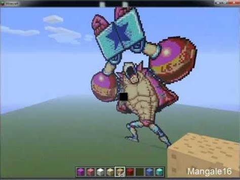 minecraft pixel art franky  piece youtube