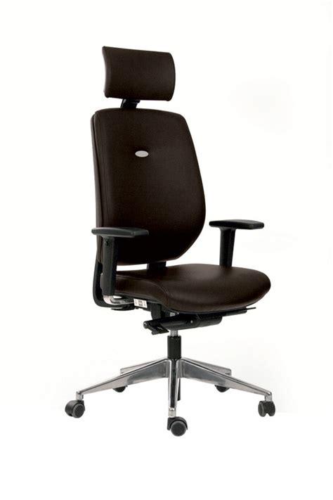 fauteuil de bureau avec appui tete fauteuil de bureau artech cuir piétement aluminium