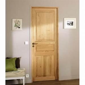 des portes interieures pour tous les gouts With porte de garage avec porte intérieure en pin massif
