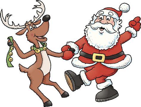 dancing reindeer clipart  clip art