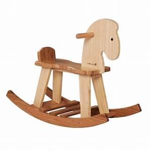 Cheval En Bois à Bascule : cheval bascule en bambou everearth acheter sur ~ Teatrodelosmanantiales.com Idées de Décoration