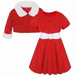 yizyif deguisement noel robe velours bebe fille costume With robe fille 3 ans noel