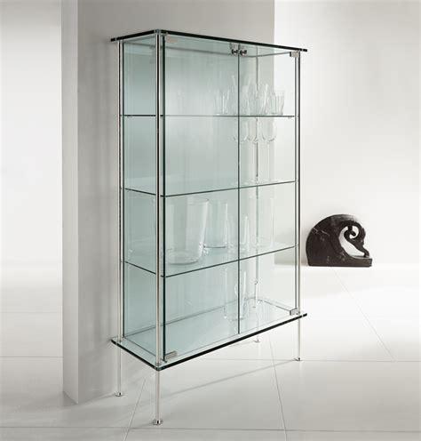 glass curio cabinet shine glass cabinet contemporary furniture by tonelli design