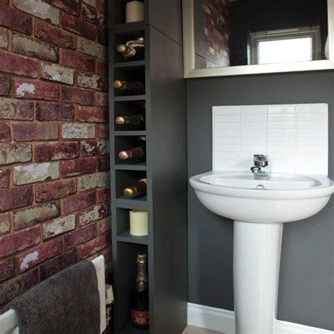 wallpaper in bathroom ideas 33 bathroom designs with brick wall tiles ultimate home