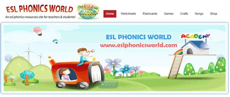 English Elda Esl Phonics World