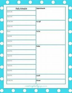 Daily Medication Chart For Elderly Free Daily Weekly Schedule Printables Creating Daily