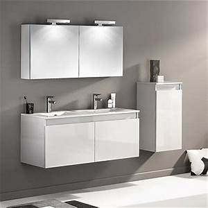 collection de meubles salle de bains design espace aubade With porte de douche coulissante avec meuble salle de bain double vasque 200 cm
