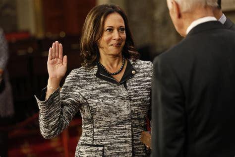 Kamala Harris sworn in as first Indian American senator
