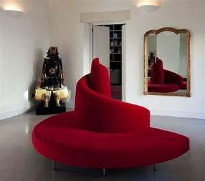 canape demi lune et canape rond 55 designs spectaculaires With tapis de yoga avec petit canapé arrondi