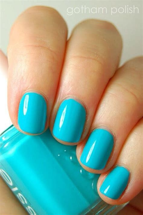 essie light blue best essie nail polishes and swatches our top 10