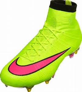 Nike Mercurial Superfly SG Cleats Volt Superfly IV