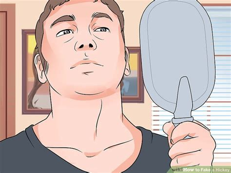 3 ways to fake a hickey wikihow