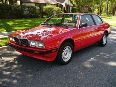 3 895 Maserati 1984 Maserati Biturbo E