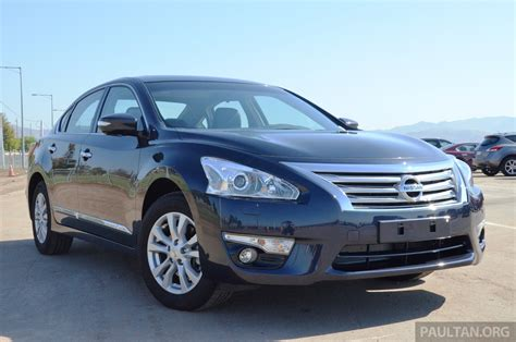 Review Nissan Teana by 2014 Nissan Teana 2 5 L33 Review At Nissan 360 Event