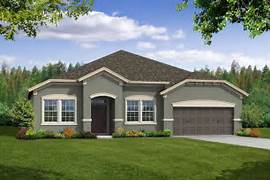 Exterior Paint Colors For Florida Homes by Exterior Paint Color Schemes Montelena New Home In Starling At FishHawk R