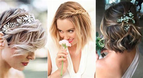 cheveux courts les  belles coiffures de mariee