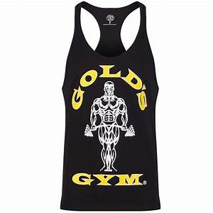 Golds Gym 2016 Mens Muscle Joe Premium String Vest ...
