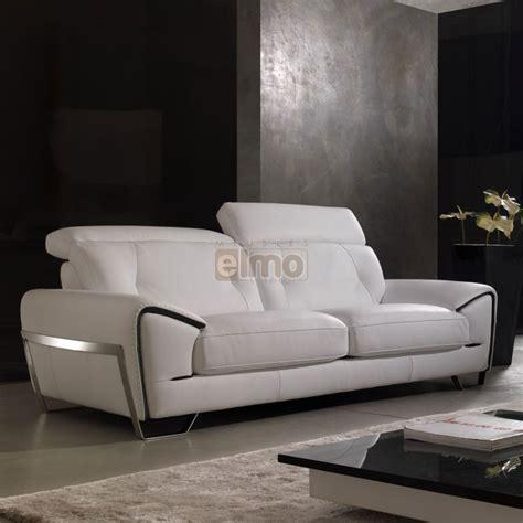 canap駸 modernes contemporains canape blanc cuir design photos canap design cuir blanc canape design cuir blanc