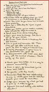 Dalai Lama U0026 39 S Instructions For Life