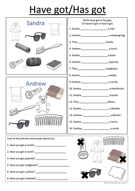 has and worksheets the best and most comprehensive