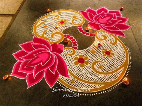 kolampinklotus beautiful rangoli designs rangoli