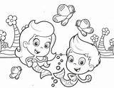 Coloring Guppies Bubble Pages Print Molly Gil Line Printable Nick Jr Library Bubbles Friends Adults Ages Getcolorings Characters Clip Cartoon sketch template