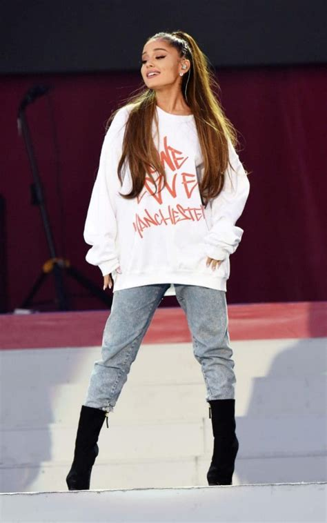 Where to buy the One Love Manchester charity jumper as worn by Ariana Grande