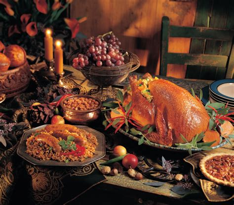 thanksgiving turkey dinner table the history of thanksgiving