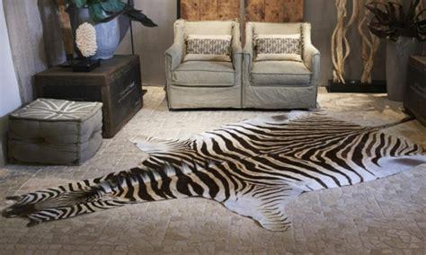 zebrafell moebel und accessoires streifen sie es