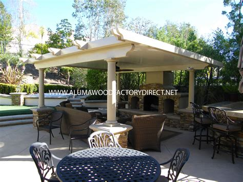 aluminum wood patio covers information alumawood factory
