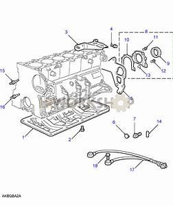 Cylinder Block Components - 2 8 Bmw M52