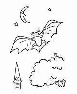 Coloring Pages Bat Bats Wild Printable Print Animal Sheet Spooky Tree Halloween Activity Vampire Animals Thanksgiving Adult Honkingdonkey Species Popular sketch template
