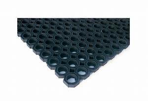tapis caillebotis caoutchouc amortissant et antiderapant With tapis caillebotis caoutchouc exterieur