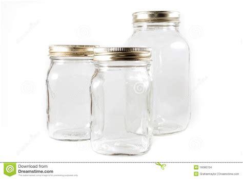 how to use jars three glass mason jars on an isolated background stock photo image 16080704