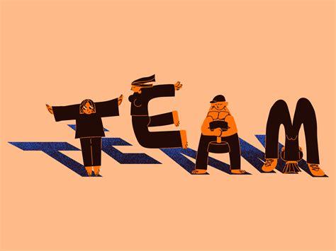 'Team' work by Huī Lín on Dribbble